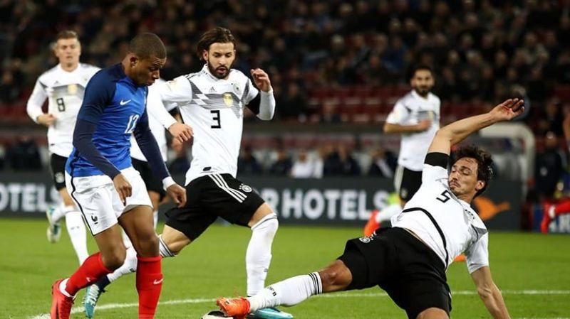 Đánh giá chung về trận đấu giứa Đức vs Pháp
